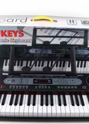 Детский синтезатор, орган, пианино MQ6130 USB, 61 клавиша