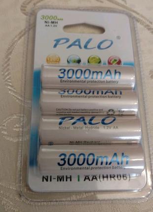 Palo акумулятори, розмір АА , ААА