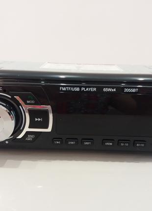 Магнитола автомобильная MP3 2055 ISO Bluetooth USB microSD AUX