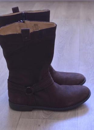 Marks spencer женские ботинки кожа нубук оригинал осень осенни...