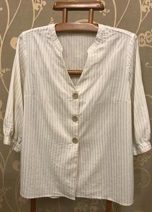 Нереально красивая и стильная брендовая блузка в полоску.