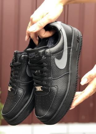 Женские кроссовки Nike Air Force на меху