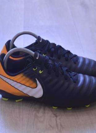 Nike tiempo бутсы кожаные оригинал осень весна футбол футбольн...