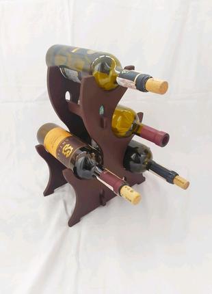 Полка винная, подставка для бутылок