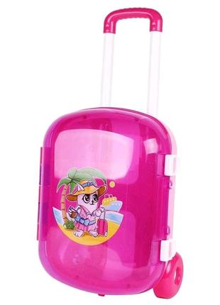 Чемоданчик ТехноК, розовый (7037)
