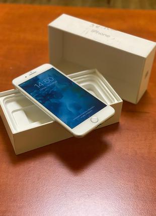 Iphone 7 Plus 128 gb, silver в идеальном состоянии