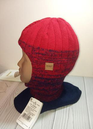 Шапка шлем капор балаклава шлемик зимний agbo