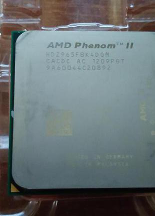 Процессор АМ3 PHENOM 2X4 965 3.4Ghz