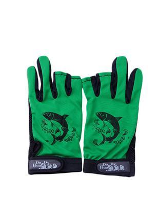 Перчатки без пальцев для спорта рыбалки.