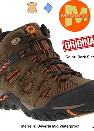 Ботинки Merrell Deverta Mid Vent Waterproof 43.5EU J375804C