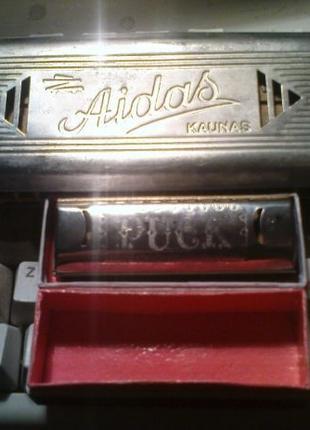 Губные гарможки Aidas и Puck