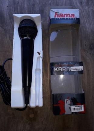 """Микрофон """"hama"""" для караоке"""