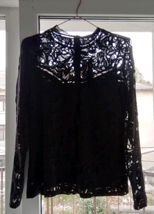 Блузка гипюровая брендовая
