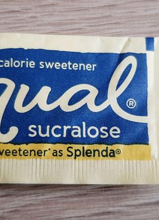 Пакетик с сахаром, стик
