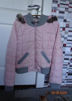 Тепленькая стеганая курточка