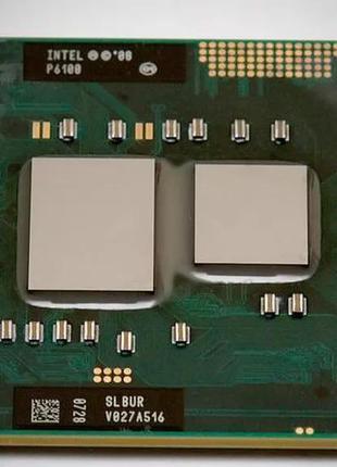 Процессор Intel Pentium P6100 3M 2 Ядра Socket G1 (RPGA988A)