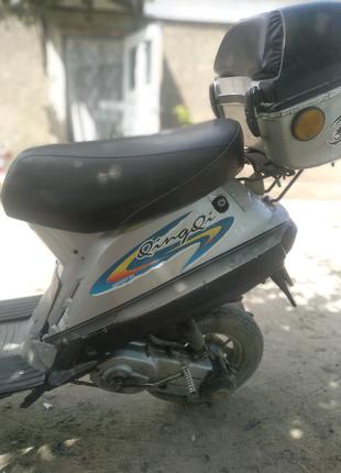 Скутер 50 куб 2т