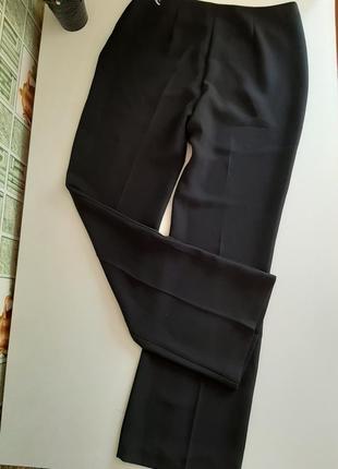 Классические-широкие черные брюки