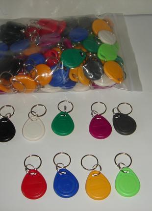 Ключи, брелки для домофонов T5577, перезаписываемые.