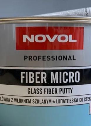 Шпатлевка стекловолокнистая Novol Fiber