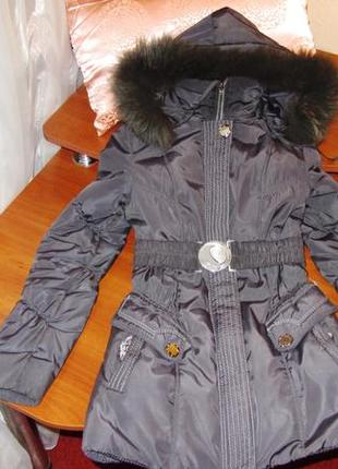 Зимняя куртка на 10-12 лет