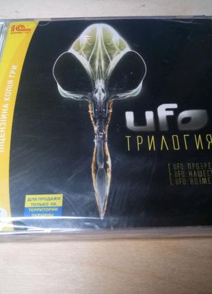 UFO трилогия лицензионный диск игра для PC / ПК
