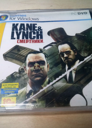 Kane and Lynch 2DVD лицензионный диск игра для PC / ПК