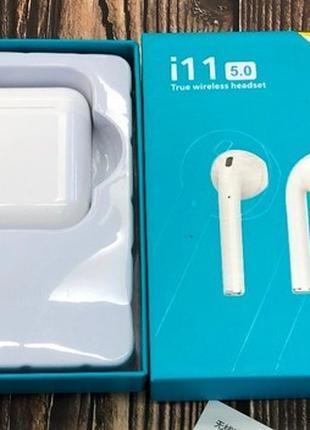 Беспроводные наушники l11 TWS Bluetooth Sensor 5.0 White