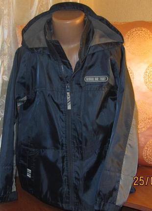Куртка ветровка реглан  из водоотталкивающей ткани