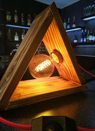 Светильник ретро,лофт,настольная лампа, лампа Эдисона