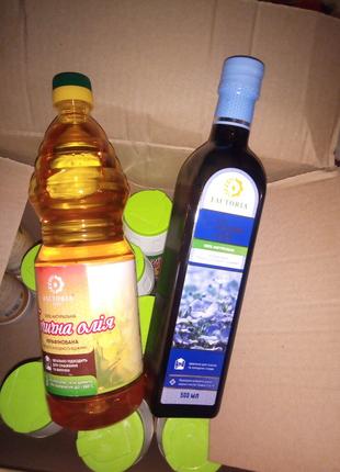 Горчичное и Льняное масло холодный отжим