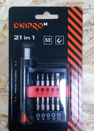 Набор отверток Dnipro-M для точных работ S2 21 шт.