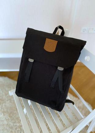 Fjallraven женский рюкзак канкен черный