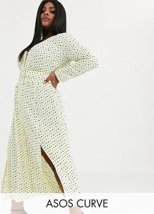 Платье размера плюс asos design 😻