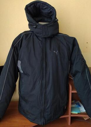 Двусторонняя зимняя куртка