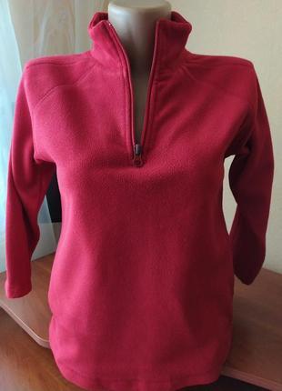 Флисовый свитер, кофта реглан