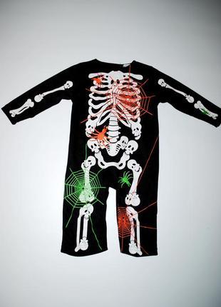 Одежда светится! человечек костюм хеллоуин на ребенка 1-2 года...