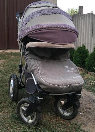 детскую прогулочную коляску