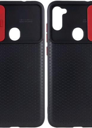 Чехол для Samsung Galaxy A11/ M11 со шторкой для камеры