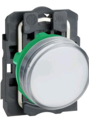 Сигнальная лампа XB5AVB1 22мм 24В белая Schneider Electric