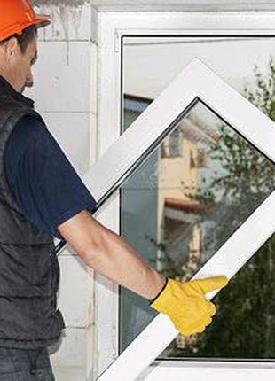 Установка металлопластиковых окон, дверей