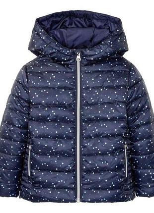 Демисезонная утепленная дутая куртка lupilu