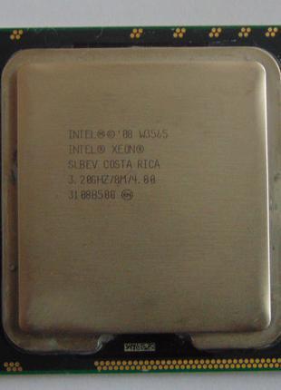 Процессор Intel Xeon W3565 3.20GHz/8Mб кеш, 4 ядра, 8 потоков