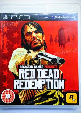RED DEAD REDEMPTION (Rockstar Games) PS3 playstation 3 диск