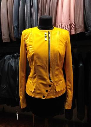 Курточка натуральная кожа овчина турция турецкая косуха трансф...