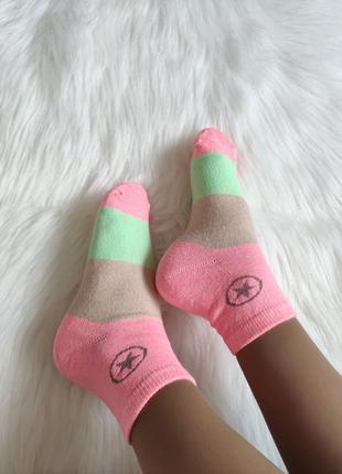 Брендовые носочки converse, р-р 36-41.