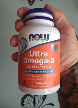 Омега 3 90 капсул; Omega 3; ультра омега 3; Ultra Omega 3