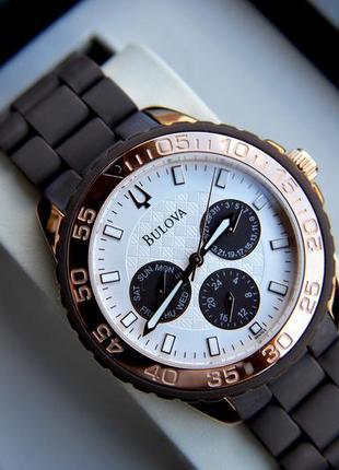 Большой диаметр! cуперцена! стильные женские часы хронограф bu...