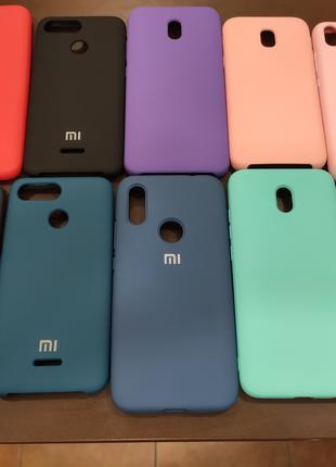 Силіконові чохли Original Soft Case на всі моделі Xiaomi ,Samsung