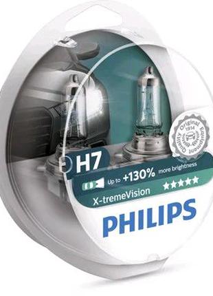 Лампа накаливания H7 12V 55W PX26d X-treme VISION +130% (пр-во Ph